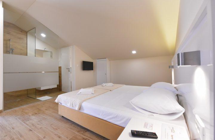 Idassa Atrium – Dvokrevetna soba s dva pomoćna ležaja