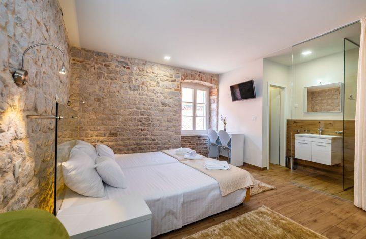 Idassa Atrium – Doppelbettzimmer mit einem Extrabett